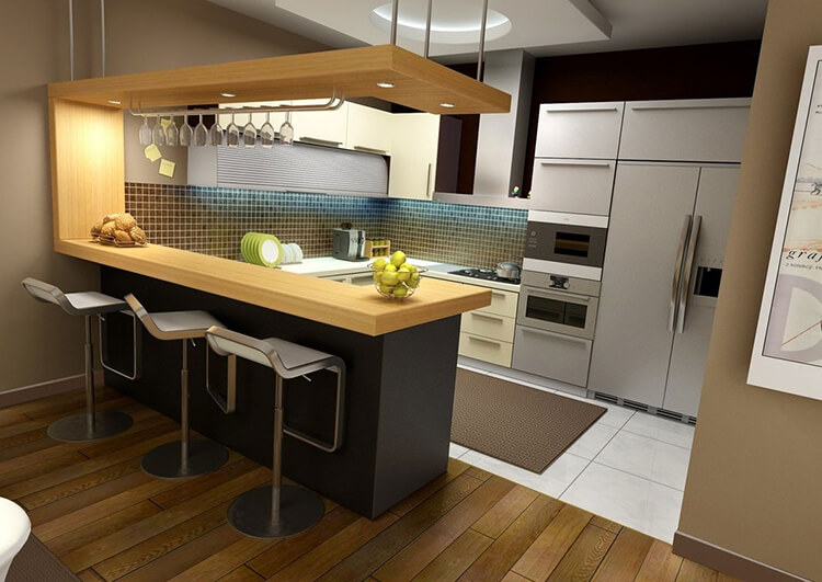 amerikan mutfak modelleri