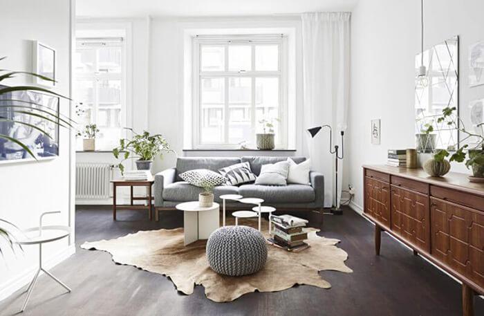 minimalist oturma odası dekorasyon