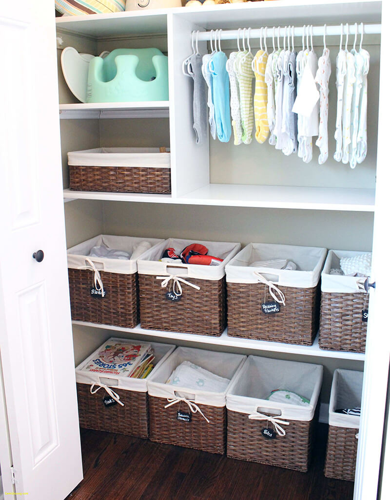bebek odası dekorasyon dolap fikirleri