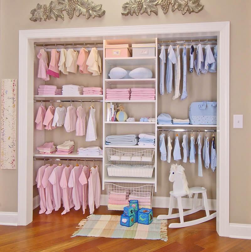 bebek odası dolap örnekleri