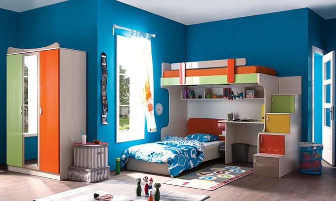 çocuk odası dekorasyon ranza
