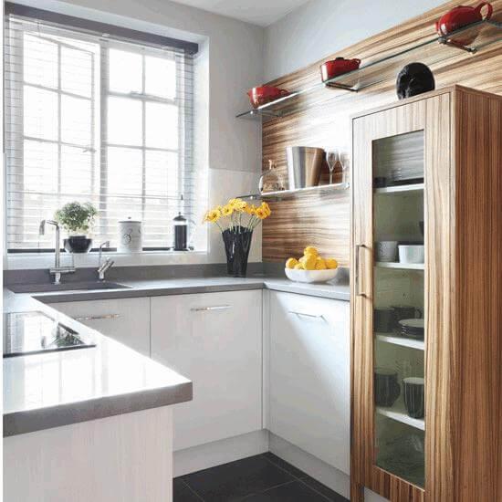 küçük mutfaklara dekorasyon fikirleri