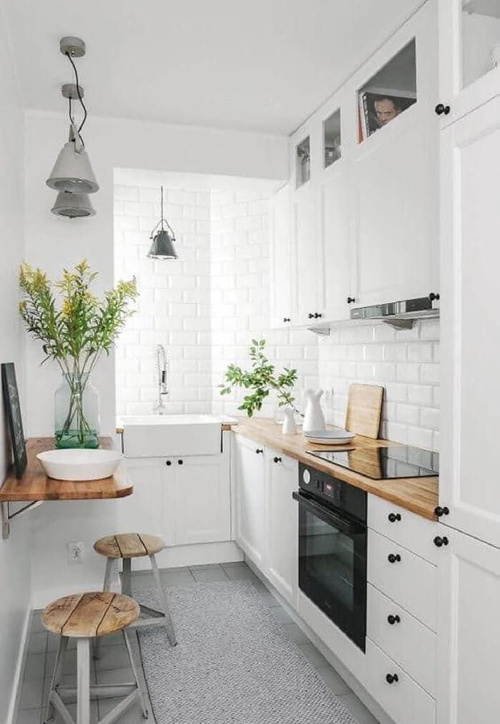 minik mutfaklara dekorasyon fikirleri