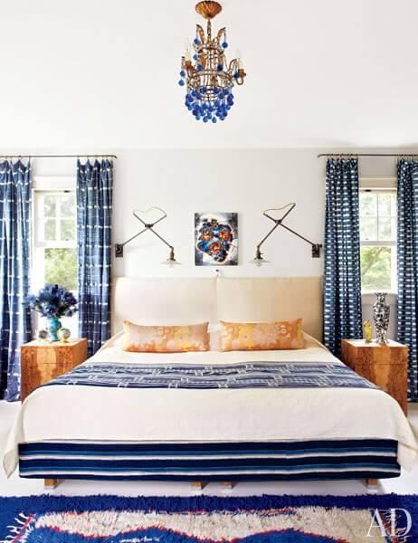 yatak odası halı dekor